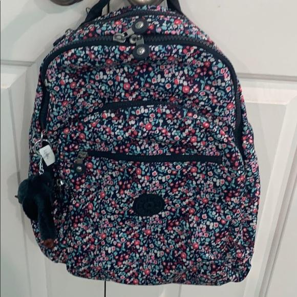 Kipling Handbags - Kipling Seoul Backpack/Laptop, Glistening Poppy BL
